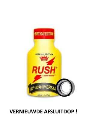 Rush Anniversary Poppers 40ml