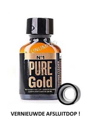 Pure Gold 24ml Oval Bottle