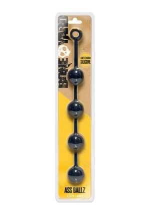 Ass Ballz - Clamshell - Black- XL